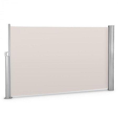 Blumfeldt Bari 318 oldal napellenző, 300x180 cm, alumínium, krémszínű