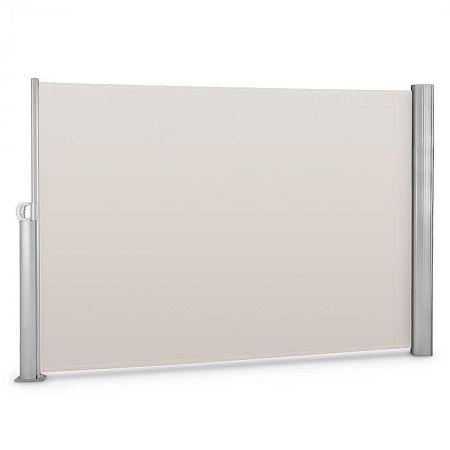 Blumfeldt Bari 320 oldal napellenző, 300x200 cm, alumínium, krémszínű