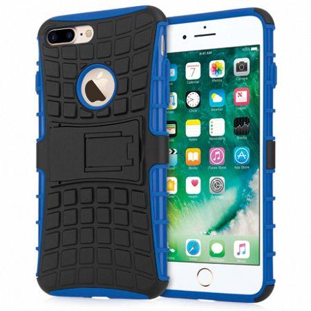Caseflex műanyag tok Kickstand Combo iPhone 7/8 Plus Kék