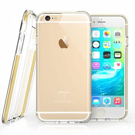 Caseflex szilikon tok Reinforced TPU Gel iPhone 6/6s Arany