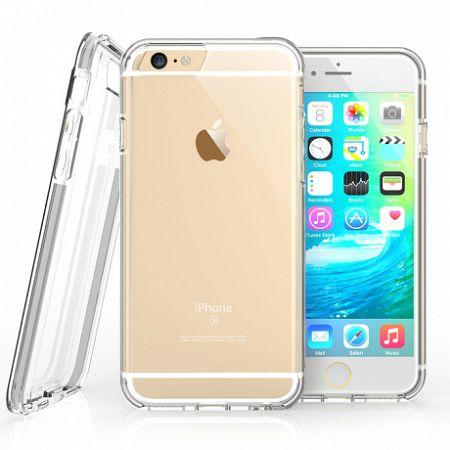 Caseflex szilikon tok Reinforced TPU Gel iPhone 6/6s Fekete