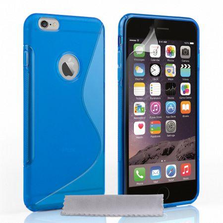 Caseflex szilikon tok S-Line Gel iPhone 6/6s Plus Kék