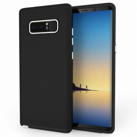 Centopi műanyag tok Textured Hybrid Samsung Galaxy Note 8 Fekete