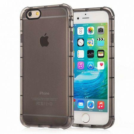 Centopi szilikon tok Gel Black Camera Hole iPhone 6/6S Fekete