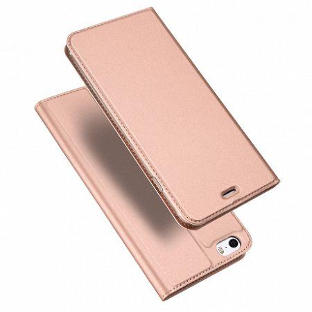 DUX DUCIS Skin Pro bőrtok iPhone 5/5S/SE, rózsaszín