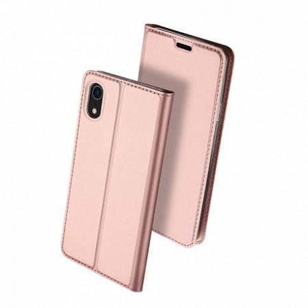 DUX DUCIS Skin Pro bőrtok iPhone XR, rózsaszín