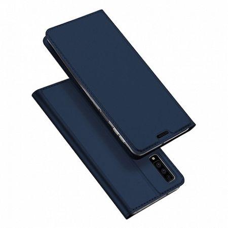 DUX DUCIS Skin Pro bőrtok Samsung Galaxy A7 2018 A750, kék