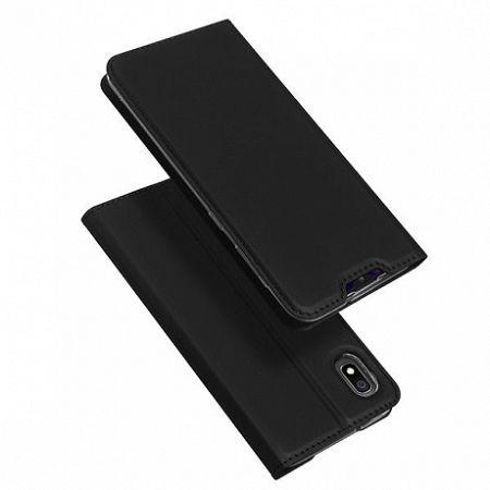 DUX DUCIS Skin Pro könyv bőrtok púzdro Samsung Galaxy A10, fekete
