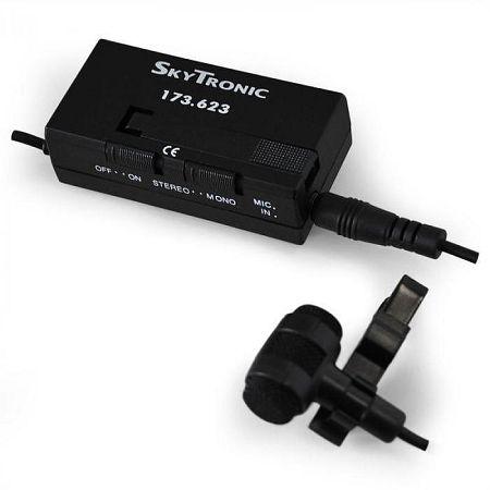 Feltűzhető kondenzátoros mikrofon Skytronic 173.623