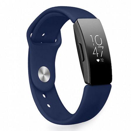 Fitbit Inspire Silicone (Small) szíj, Dark Blue