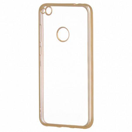 Gumené púzdro Metalic Slim pre Huawei P9 Lite 2017 Arany