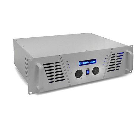 Ibiza AMP 1000 DJ a PA erősítő 1600 W MOSFET fehér