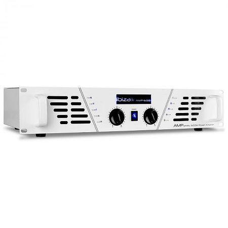 Ibiza AMP 600 DJ PA erősítő 960 W MOSFET fehér