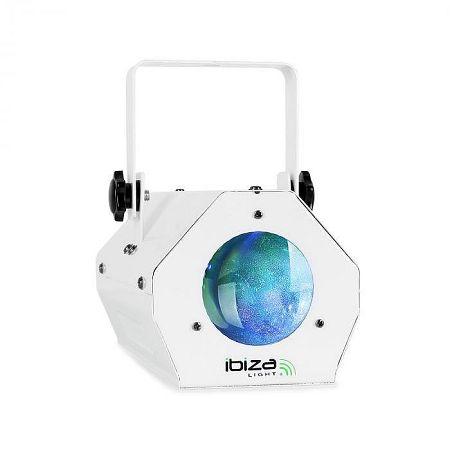 Ibiza LCM003, LED efekt Moonflower RGBWA, zenével vezérelt