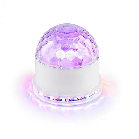 Ibiza UFO-ASTRO-WH LED, fényhatás, RGB, fehér