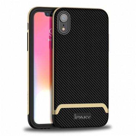 iPaky Bumblebee Neo Hybrid szilikon tok iPhone XR, arany