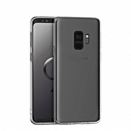 iPaky Effort szilikon tok + kijelzővédő üvegfólia  9H Samsung Galaxy S8 G950, átlátszó