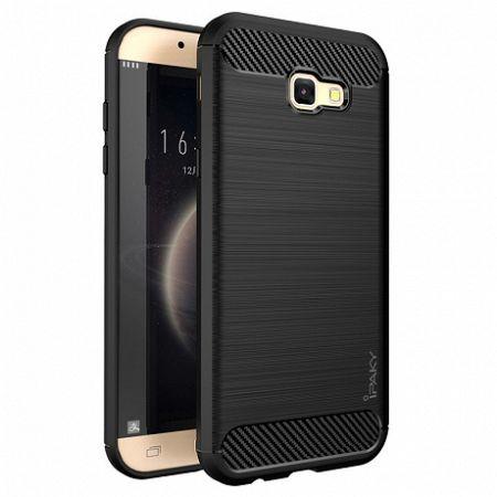 iPaky műanyag tok Slim Carbon Flexible Samsung Galaxy A5 2017 Fekete