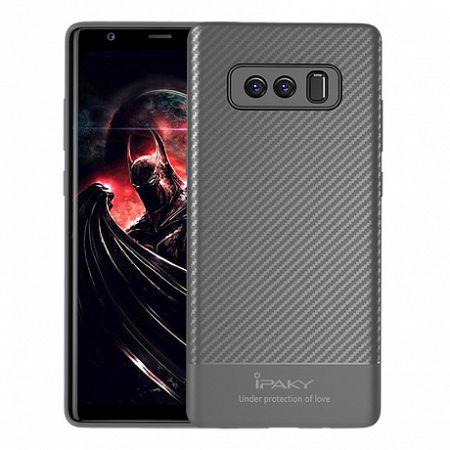 iPaky szilikon tok Carbon Fiber Samsung Galaxy Note 8 szürke