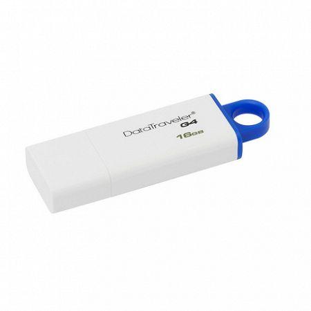 Kingston DataTraveler G4 16GB USB 3.0, kék (DTIG4/16GB)