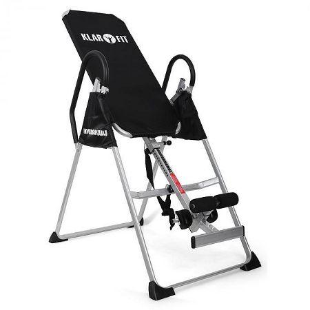 KLARFIT Relax Zone Basic Inverziós asztal, akár 135 kg teherb&iacu