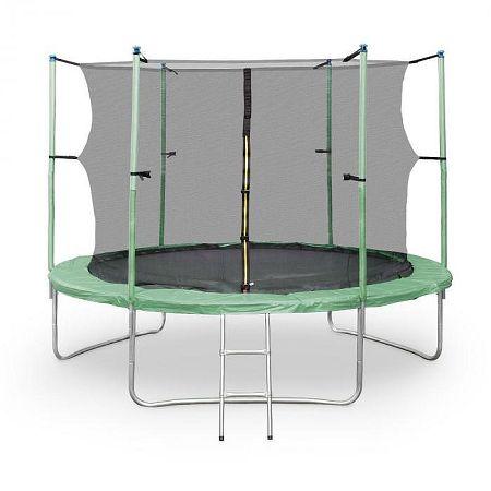 KLARFIT Rocketstart XXL, 305 cm trambulin, biztonsági háló