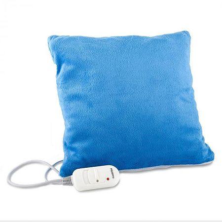 Klarstein Winter Dreams melegítő párna, 45 W, 35 x 35 cm, plüss, kék