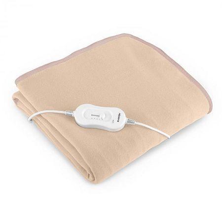 Klarstein WinterDreams, 60 W, elektromos takaró, krémszínű