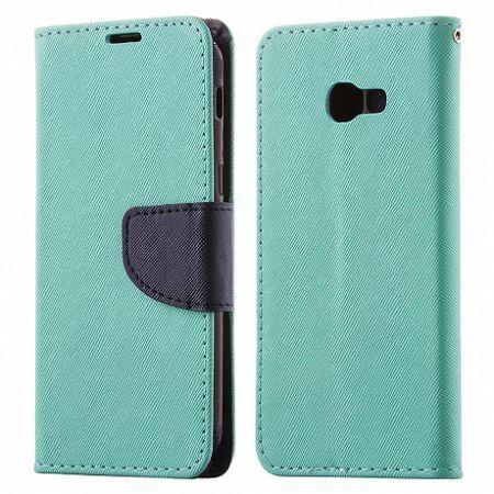 Könyv bőrtok Fancy Case Flip Book Huawei P20 Zöld