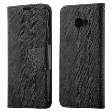 Könyv bőrtok Fancy Case Flip Book Sony Xperia XZ2 Fekete