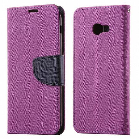 Könyv bőrtok Fancy Case Flip Book Sony Xperia XZ2 Lila