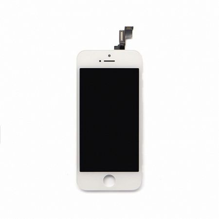 LCD kijelző Apple iPhone 5 + érintőpanel fehér OEM