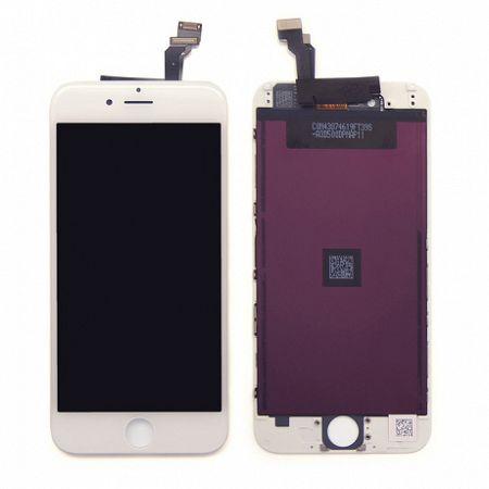 LCD kijelző Apple iPhone 6s Plus + érintőpanel fehér OEM