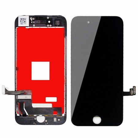 LCD kijelző Apple iPhone 7 + érintőpanel fekete OEM