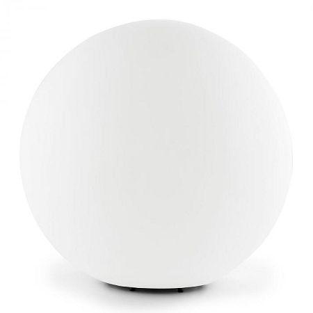 Lightcraft Shinestone L gömbölyű kültéri lámpa, 40cm, fehér