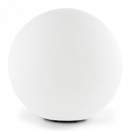 Lightcraft Shinestone M gömbölyű kültéri lámpa, 30cm, fehér