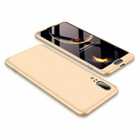 Műanyag tok 360 Full Body Huawei P20 Arany
