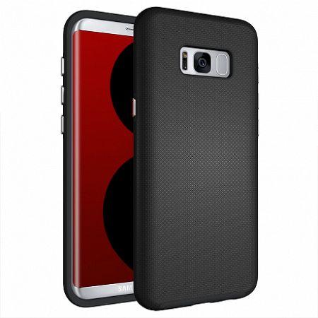 Műanyag tok Armor Rugged Samsung Galaxy S8 Plus Fekete
