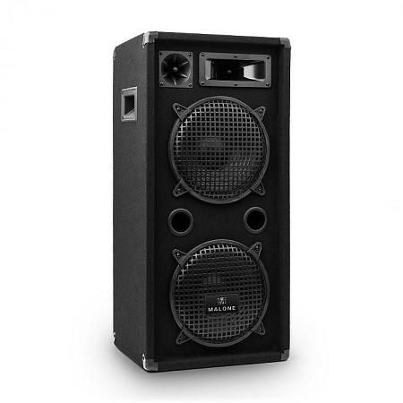 Malone 2 x 25 cm-es hangfal PW-10X22, 900 W, 2-szintes