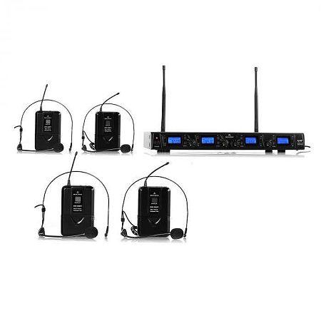 Malone UHF-550 Quartett2 vezeték nélküli mikrofon szett