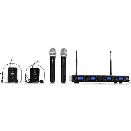 Malone UHF-550 Quartett3 vezeték nélküli mikrofon szett