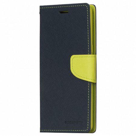 Mercury Könyv tok Goospery Fancy Samsung Galaxy Note 8 N950 Sötétkék