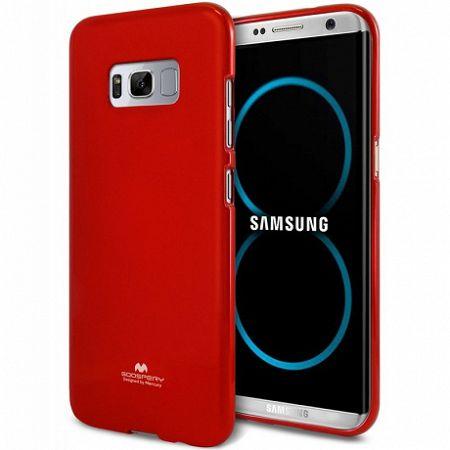 Mercury szilikon tok Goospery Jelly Samsung Galaxy S8 Plus Piros