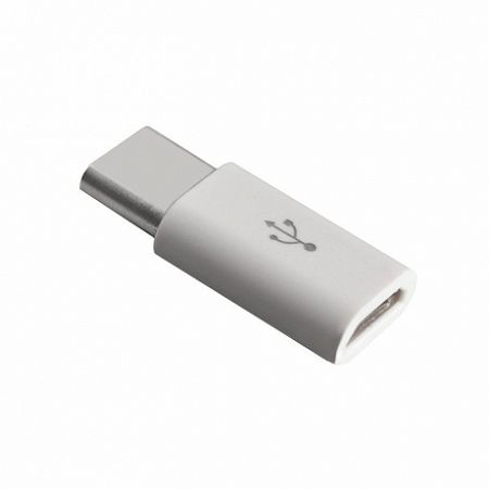 MG adapter Micro USB / USB Type-C, fehér