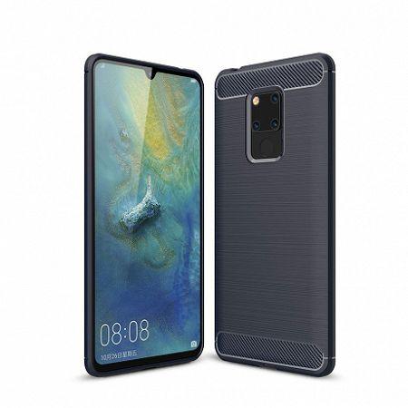 MG Carbon Flexible szilikon tok Huawei Mate 20, kék
