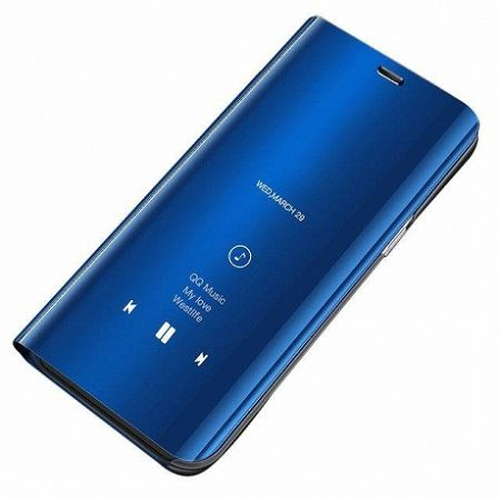 MG Clear View könyv tok Samsung Galaxy A7 2018 A750, kék
