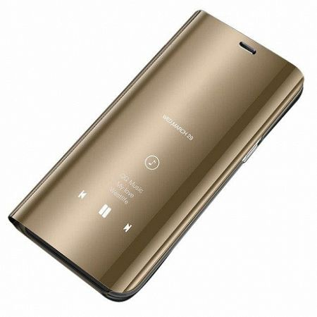 MG Clear View könyv tok Samsung Galaxy S8 G950, arany