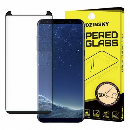 MG kijelzővédő üveg 5D Full Glue Samsung Galaxy S8 Plus Fekete