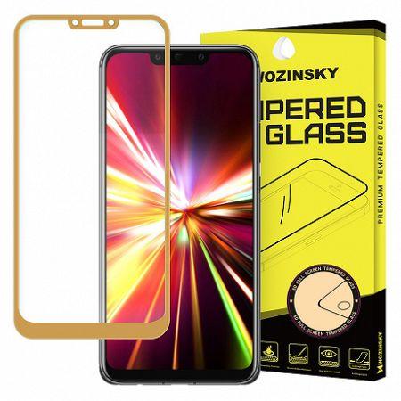 MG kijelzővédő üveg Full Glue Super Huawei Mate 20 Lite, arany