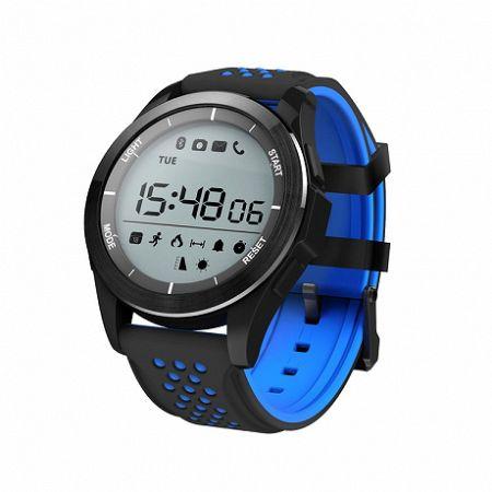 NEOGO SmartBand F3, okoskarkötő, fekete/kék